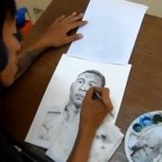 Art Director Michael Magpantay bei der Arbeit – so entsteht eine Zeichnung für abseits.at (4)