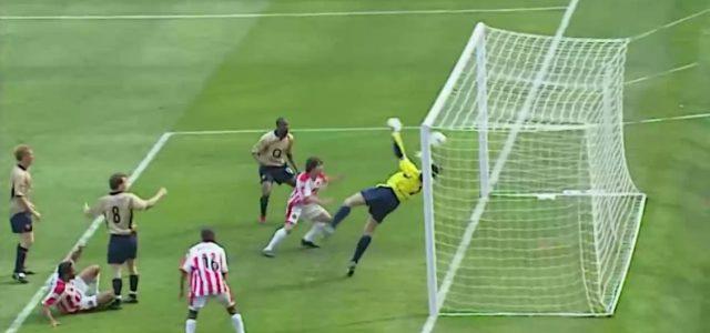 Als David Seaman gegen Sheffield United zur Krake wurde