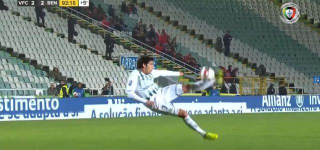 90+2: Geniales Ausgleichstor von Setubal gegen Benfica