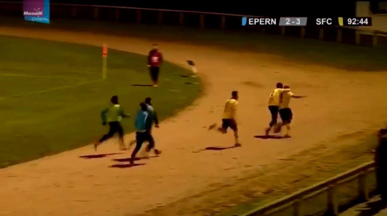 5. französische Liga: Unglaubliches Siegtor in der 93.Minute
