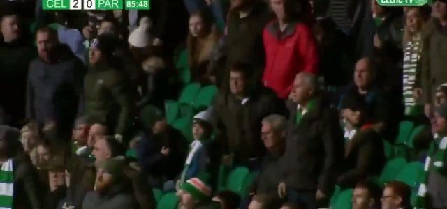 Partick Thistle Spieler verletzt Celtic-Fan