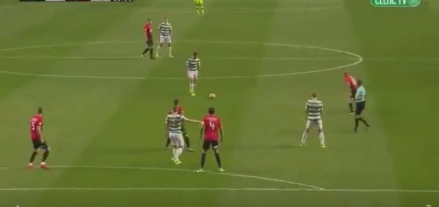 Celtic-Youngster Kieran Tierney sorgt für einen Magic Moment