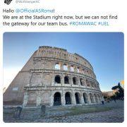WAC hat Twitter-Spaß mit der AS Roma