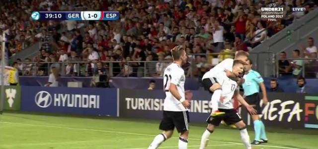 Weiser trifft: Deutschland gewinnt die U21-EM!