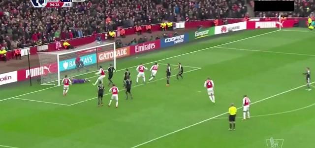 """Arsenal besiegt Leicester: Last-Minute-Tor von Welbeck zwingt die """"Foxes"""" in die Knie"""