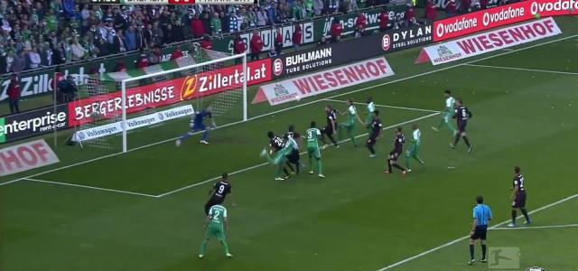 Werder Bremen fixiert mit 1:0 über Eintracht Frankfurt den Klassenerhalt