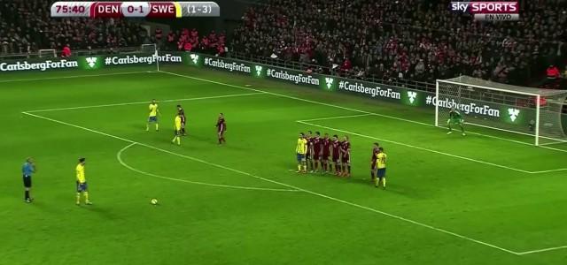 Zlatan Ibrahimovic schießt die Schweden zur EM 2016